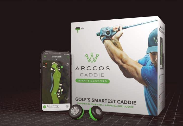 Arccos smart caddie sensor
